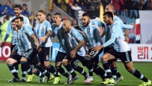 Драма с дузпи класира Аржентина на 1/2-финал (видео + галерия)