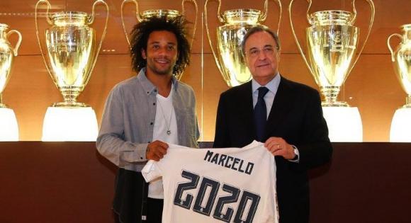 Марсело официално се бетонира в Мадрид