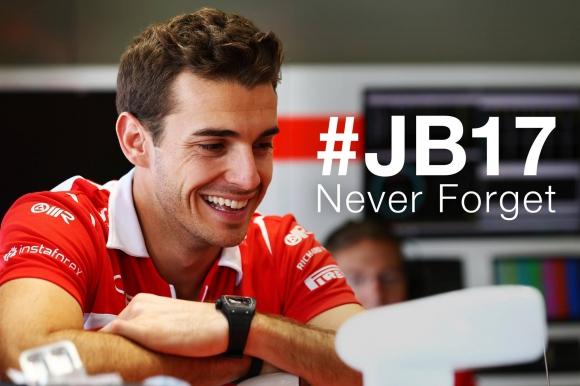 Минута мълчание в памет на Жул Бианки преди Гран при на Унгария