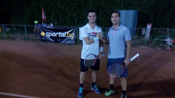 Станислав Георгиев с първо отличие от турнирите на Интерактив Тенис