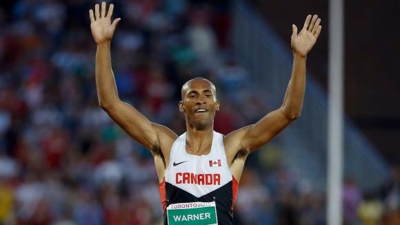 Уорнър подобри рекорда на Канада в десетобоя