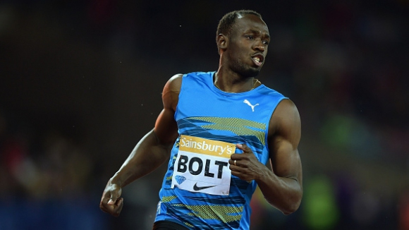 Болт: В тренировките бягам много по-бързо