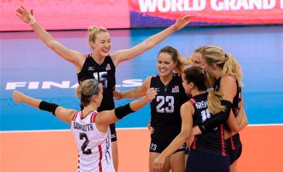 САЩ спечели титлата в турнира Гран При по волейбол за жени