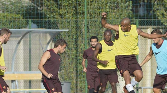 Салах тренира нелегално - Рома се издаде със снимка