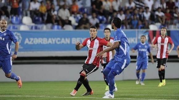 Атлетик Билбао си свърши работата без голове в Баку