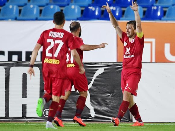 Рубин с Благой Георгиев стигна до плейофите на Лига Европа