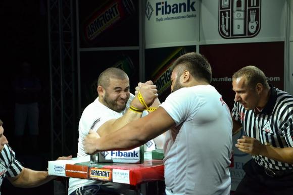 Георги Цветков спечели Балканската лига по канадска борба