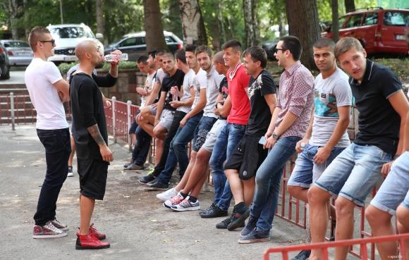 ЦСКА представя отбора преди мача със Струмска слава
