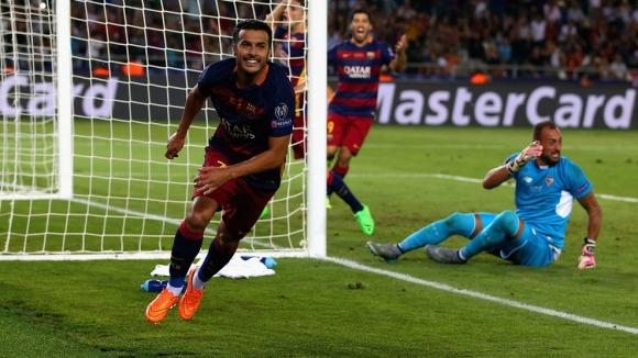 Невиждано шоу с 9 гола за Суперкупата на Европа, Барселона триумфира след драма в Тбилиси (видео + галерия)