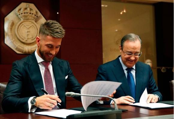 Край на сагата: Серхио Рамос преподписа с Реал