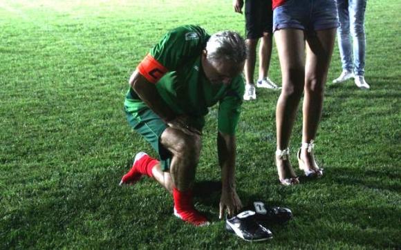 "Христо Стоичков отново на терена на стадион ""Христо Стоичков"" (видео + снимки)"