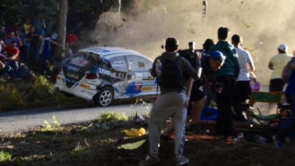 """Инцидент на рали """"Коруня"""" в Испания, шестима загинаха (видео от трагедията)"""