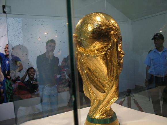 Италианците показаха 4-те световни купи преди мача с България