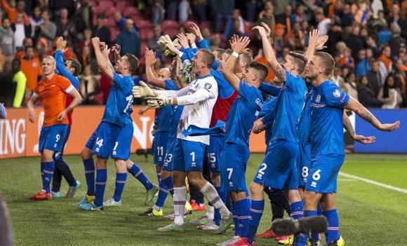 Велик момент за острова - Исландия е на европейско първенство (видео)
