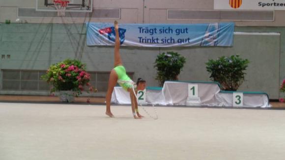 Кристина Ташева спечели три златни медала в Германия