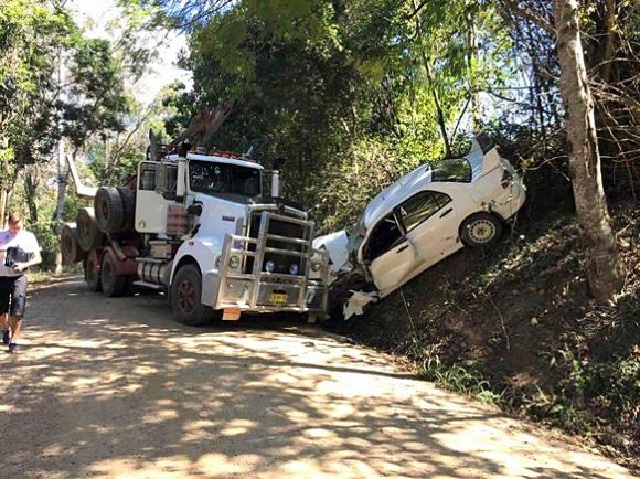 Йостберг няма да участва в Рали Австралия след сблъсък с камион