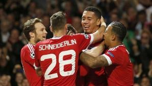 Ман Юнайтед обърна Волфсбург за първа победа в ШЛ (видео)