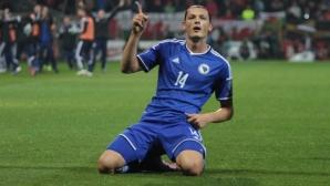 """Босна излъга Уелс и докосва баража, """"драконите"""" са на Евро 2016"""
