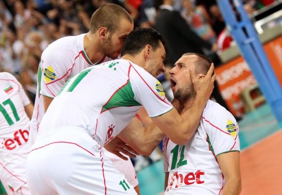 Велика България прегази Германия с 3:0 и е на полуфинал (ГАЛЕРИИ)