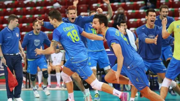 Словения шокира световния шампион Полша и го отстрани от Евроволей 2015 (ГАЛЕРИЯ)