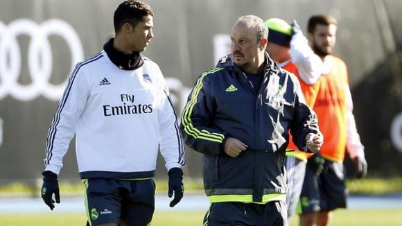 Бенитес: Отсега нататък ще казвам, че Кристиано е най-добрият, когото съм тренирал