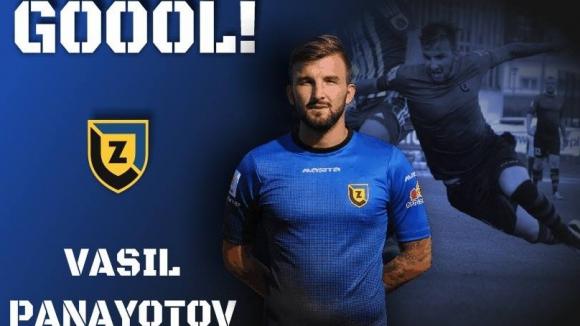 Васил Панайотов се разписа в полското първенство