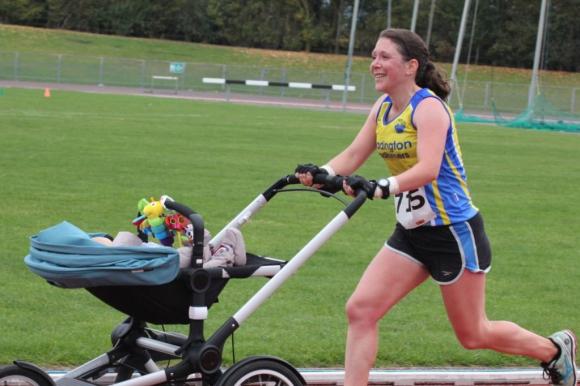 Майка с количка постави световен рекорд в маратона