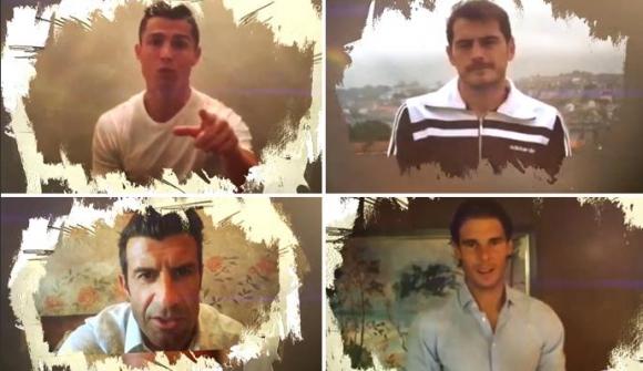 """Кристиано, Надал и Алонсо """"запяха"""" в песен на Хулио Иглесиас (видео)"""