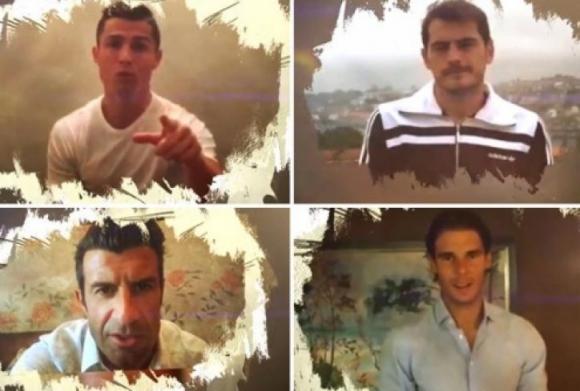 CR7, Надал, Касийяс, Раул и Дел Боске в новия хит на Хулио Иглесиас