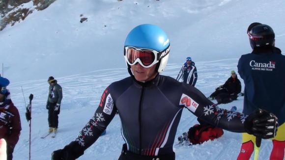 Алберт Попов отпадна в първия манш на гигантския слалом за Световната купа