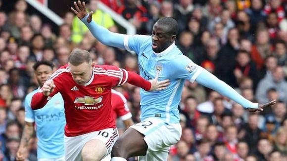 Манчестър Сити удържа върха в безлично дерби с Ман Юнайтед (видео)