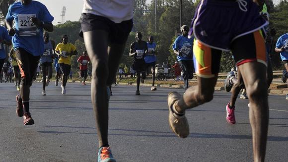 Измамник избяга 1 км и завърши втори на маратон в Кения