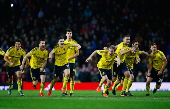 """Мидълзбро триумфира на """"Олд Трафорд"""", най-опитните провалиха Ман Юнайтед (видео)"""