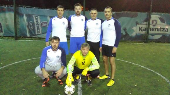 Футболният отбор на МФ убедително победи тима на БНР