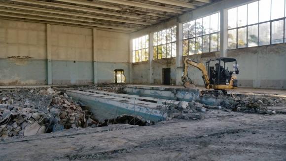 ЦСКА започна строителство на новата си зала (снимки)