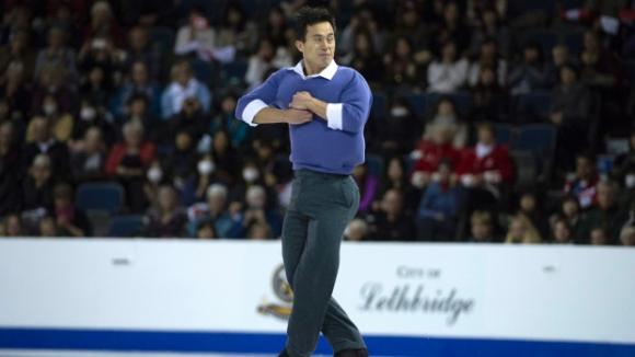 """Олимпийският вицешампион Патрик Чан спечели """"Скейт Канада"""""""
