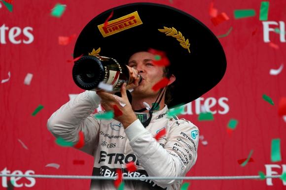 Розберг победи Хамилтън при завръщането на Гран при на Мексико