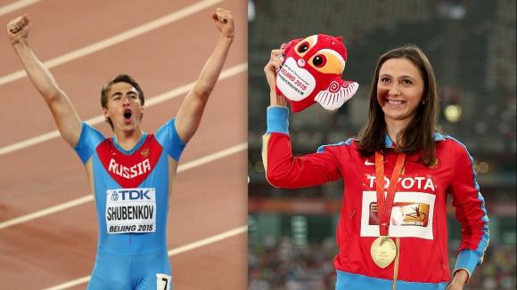 Кучина и Шубенков обраха наградите в Русия