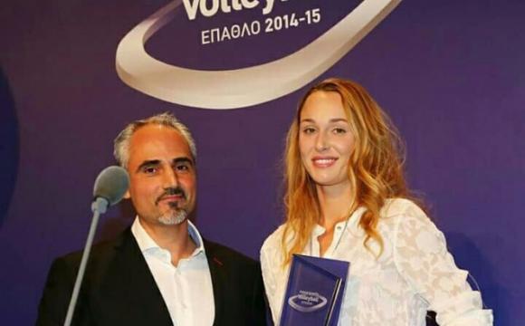 Габи Цветанова наградена като MVP на сезона в Гърция