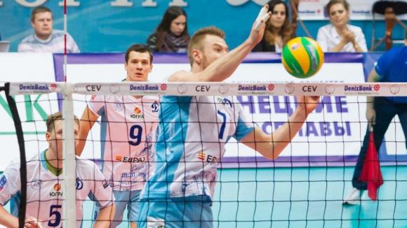 Феноменален Иван Зайцев с 82% в атака! Динамо отнесе Фридрихсхафен с 3:0 в ШЛ