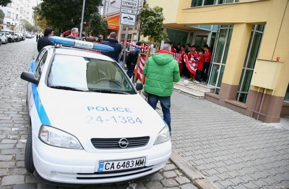 БФС поиска засилена охрана заради ЦСКА
