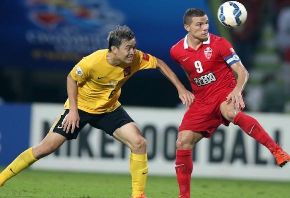Без голове в първия финален двубой в азиатската Шампионска лига