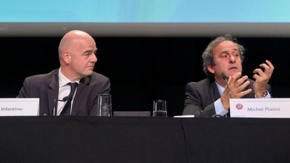Инфантино: Ще се оттегля, ако разрешат на Платини да се кандидатира