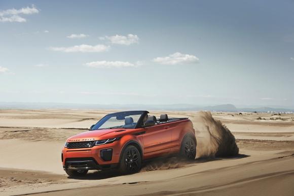 За първи път: Range Rover Evoque кабрио
