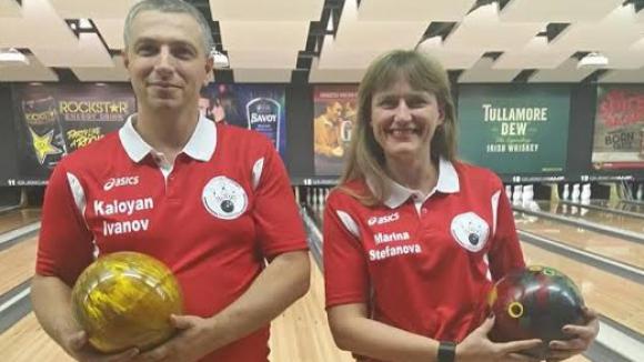Калоян Иванов и Марина Стефанова ни представят на СК по боулинг
