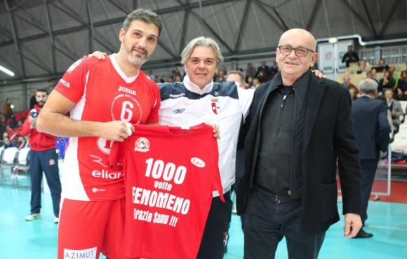 Легендарният Самуеле Папи с мач №1000 за клубен отбор! Ще играе до 44 (ВИДЕО)