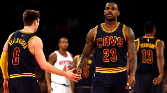 Кливлънд с осма поредна победа в НБА