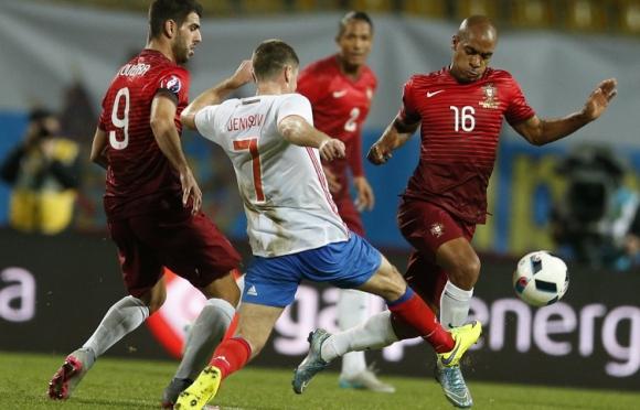 Русия се справи с Португалия без Кристиано (видео)