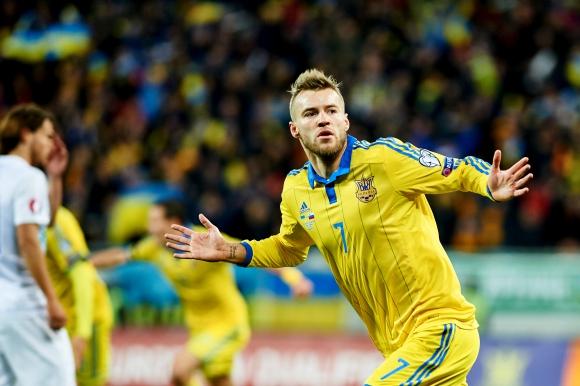 Украйна взе перфектна победа, Словения трябва да направи голям мач (видео)