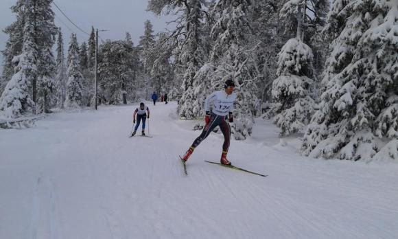 Веселин Цинзов 16-и на ски бягане във Финландия